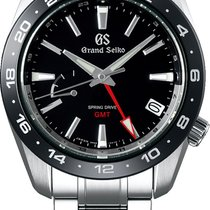 Seiko Steel Automatic Black 40.5mm new Grand Seiko