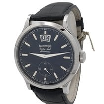 Eberhard & Co. Watch new Steel 38mm No numerals Automatic Watch with original box and original papers
