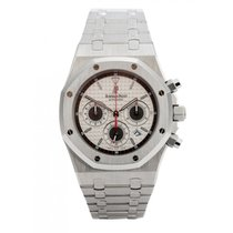 Audemars Piguet Royal Oak Offshore Chronograph Acier 39mm Blanc France, Paris