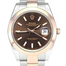 Rolex Datejust Gold/Steel 41mm Brown No numerals United Kingdom, Manchester