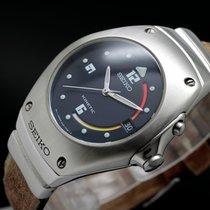 Seiko Arctura Steel 37mm Blue Arabic numerals