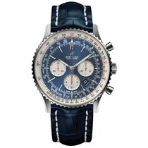 Breitling Navitimer 01 (46 MM) Steel 46mm Blue United States of America, Iowa, Des Moines