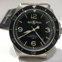 Bell & Ross BR V2 Сталь 41mm Черный Aрабские