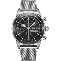 Breitling Superocean Heritage II Chronographe Steel 44mm Black No numerals United States of America, Iowa, Des Moines