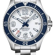 Breitling Superocean 42 Steel 42mm White Arabic numerals United States of America, Iowa, Des Moines