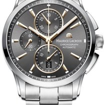 Maurice Lacroix Pontos Chronographe new 2020 Automatic Chronograph Watch with original box and original papers PT6388-SS002-331-1