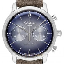 Glashütte Original Sixties Chronograph Steel 42mm Blue