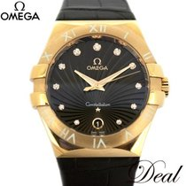 Omega pre-owned Quartz 35mm Brown