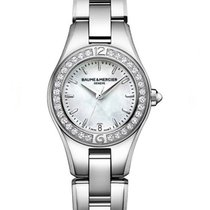 Baume & Mercier Linea Steel 27mm Mother of pearl United States of America, Florida, Boca Raton