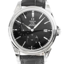 Omega De Ville Co-Axial Acero 39mm Negro