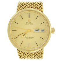 Omega Seamaster DeVille Yellow gold 35mm Gold No numerals United States of America, New York, New York