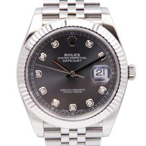 Rolex Datejust II Steel 41mm Grey No numerals United States of America, Florida, Boca Raton