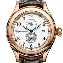 Ball Trainmaster Rose gold 42mm White Arabic numerals United States of America, New Jersey, River Edge
