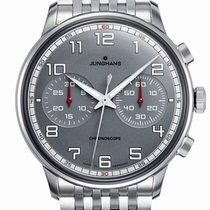 Junghans Meister Driver Steel 40.8mm Grey United States of America, New Jersey, River Edge