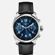 Montblanc Summit Steel 42mm Blue Arabic numerals United States of America, New Jersey, River Edge