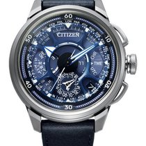Citizen Titanium 48mm Blue No numerals United States of America, New Jersey, River Edge
