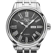 Ball Trainmaster Roman Steel Grey United States of America, New Jersey, River Edge