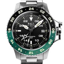 Ball Engineer Hydrocarbon Steel 40mm Black United States of America, New Jersey, River Edge