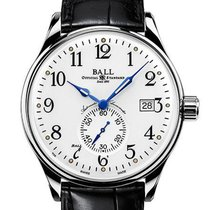 Ball Trainmaster Steel 39.5mm White Arabic numerals United States of America, New Jersey, River Edge