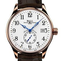 Ball Trainmaster NM3888D-PG-LCJ-WH Ny Roséguld 39.5mm Automatisk