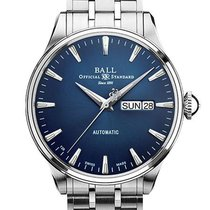 Ball Trainmaster Eternity Steel 39.5mm Blue No numerals United States of America, New Jersey, River Edge