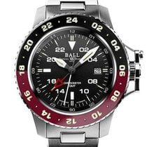Ball Engineer Hydrocarbon Steel 42mm Black No numerals United States of America, New Jersey, River Edge