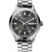 Ball Engineer III Steel 40mm Grey No numerals United States of America, New Jersey, River Edge