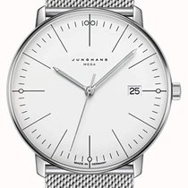 Junghans max bill MEGA Steel 38mm Silver No numerals United States of America, New Jersey, River Edge