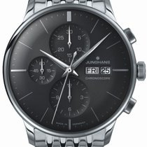Junghans Meister Chronoscope Steel 40.7mm Grey United States of America, New Jersey, River Edge