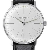 Junghans max bill Hand-winding Steel 34mm Silver United States of America, New Jersey, River Edge