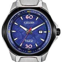 Citizen Titanium Quartz Blue No numerals 44mm new