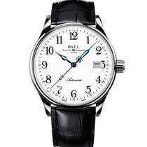 Ball Trainmaster Steel 40mm White Arabic numerals United States of America, New Jersey, River Edge