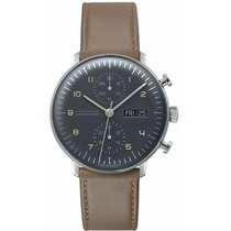 Junghans max bill Chronoscope Steel 40mm United States of America, New Jersey, River Edge