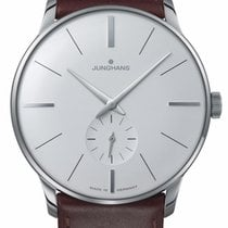 Junghans Meister Hand-winding Steel 37.7mm Silver United States of America, New Jersey, River Edge