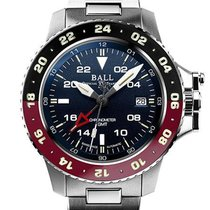 Ball Steel Automatic Blue No numerals 40mm new Engineer Hydrocarbon