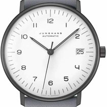 Junghans max bill Automatic Steel 34mm White Arabic numerals United States of America, New Jersey, River Edge