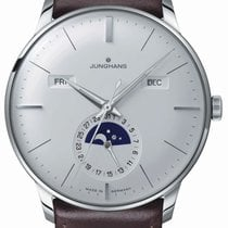 Junghans Meister Calendar Steel 40.4mm Silver United States of America, New Jersey, River Edge