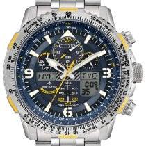 Citizen Promaster Sky Titanium 45mm Blue Arabic numerals United States of America, New Jersey, River Edge