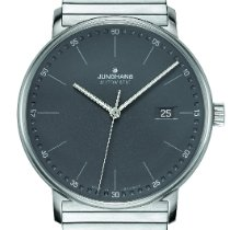 Junghans Steel 39.3mm Automatic 027/4833.44 new United States of America, New Jersey, River Edge