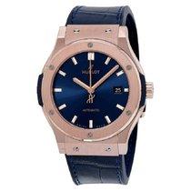 Hublot Classic Fusion Blue Rose gold 42mm Blue No numerals