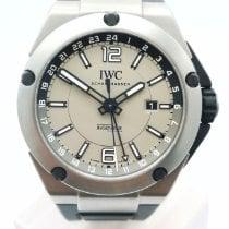 IWC Ingenieur Dual Time Titan 45mm Grå Inga siffror