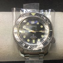 Seiko Marinemaster Steel 44.3mm Black No numerals United States of America, New Jersey, Fords