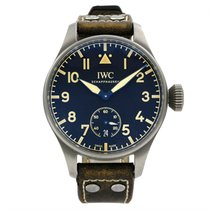 IWC Big Pilot Titanium 48mm Black Arabic numerals