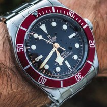 Tudor Black Bay Acero 41mm Negro España, Barcelona