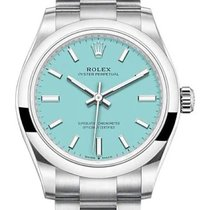 Rolex Oyster Perpetual 31 Steel 31mm Blue No numerals United States of America, New York, New York