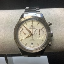 Omega Speedmaster '57 Steel 41.5mm Silver No numerals United States of America, New Jersey, Fords
