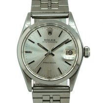 Rolex 6466 Steel Oyster Precision 34mm pre-owned