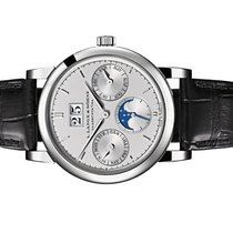 A. Lange & Söhne Platinum Automatic Silver Arabic numerals 38.5mm new Saxonia