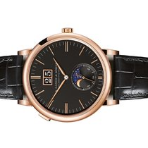 A. Lange & Söhne Saxonia Rose gold 40mm Black Arabic numerals United States of America, Florida, Aventura