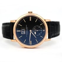 A. Lange & Söhne Rose gold Automatic Black Arabic numerals 40mm new Saxonia